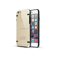Colourful Frame PC material Transparent Phone Case Cover for iPhone6,for galaxy note 3 motherboard