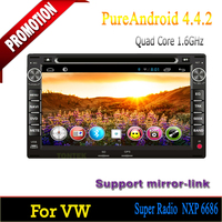 """7"""" Car dvd player gps wifi 2 din in Navigation & GPS for VW PASSAT B5 android 4.4 quad core"""