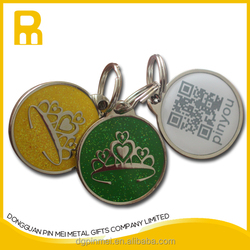2015 high class quality pet tags qr code for dog and cat