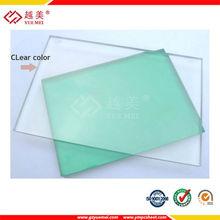 Policarbonato policarbonato transparente techo sábanas