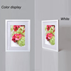 Latest design large simple delicate wood photo frames picture frame sizes 11x14 12x16 16x20