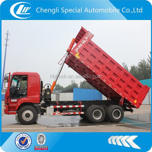 CAMC 6x4 heavy 30 ton self loading dump truck for sale