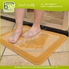 Soft eco feature polypropylene pile anti-slippery latex mat