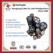 Real Producer Supply XLPE Cable Kinds of XLPE Power Cables