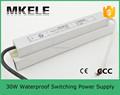 Fs-30-12 12 v fuente de alimentación conmutada 12 volt dc impermeable transformador led