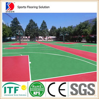 Muti-purpose basketball court sports flooring surface