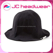 Custom you own logo plain dyed cotton bucket cap / fisherman cap