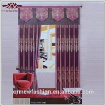 Los modelos de cenefas cortina, de tela africana al por mayor, cortinas de salón