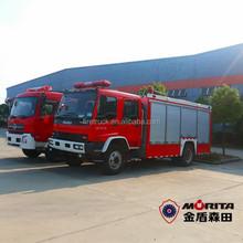 4 x 2 agua de la ciudad de espuma camión de bomberos para pública tender ( un Joint venture con MORITA umbrella corporation )