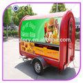 multifuncional móvil de comida rápida de los carros