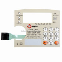 High quality tactile membrane switch membrane keypads