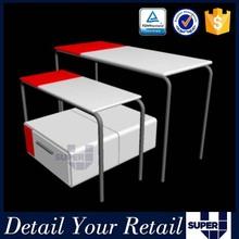 decorative iron brackets,wooden decorative corner stand,wooden checkout counter