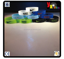 NIKE silicone Wristband Baller Band Bracelet Just Do it Basketball - 5 Colors/full sexy open photo
