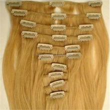 2015 product hai pu hair wet and wavy clip in hair extensions
