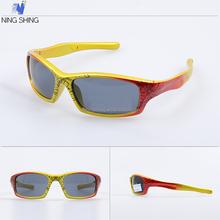 China produtos de altíssima qualidade bebê dos desenhos animados coloridos Kid CE óculos de sol