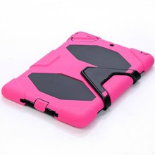 Best silicone+pc protector case for iPad 6/ for iPad air 2