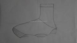 neoprene bike shoecovers, botties, PU coated neoprene waterproof cycling overshoes
