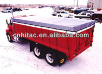 All Weather Tarpaulin For Farm Fitted Truck Cover
