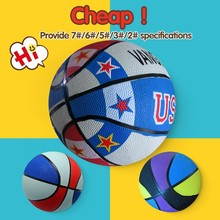 Different Size Training weight of a basketball,rubber full color basketball