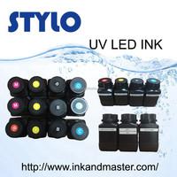 UV LED Ink for glass