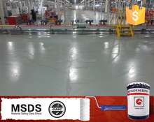 Industrial epoxy resin flooring epoxy liquid workshop floor paint