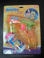New design bubble gun with light with low price BB41018899m