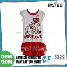 2015 New Style Quality Assured Customized Dresses For Girls Of 6 Years Old