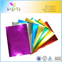 different colors golden color aluminum foil paper