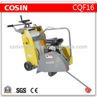 Cosin CQF16 gasoline honda concrete cutter for asphalt road
