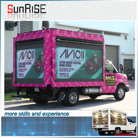 4*4/4*3/4*2m led screen mobile trailer mounted led display xxx video outdoor led large screen display