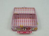 paint brush packing tin box for children