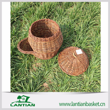High quality and timely deliver wicker knitting basket
