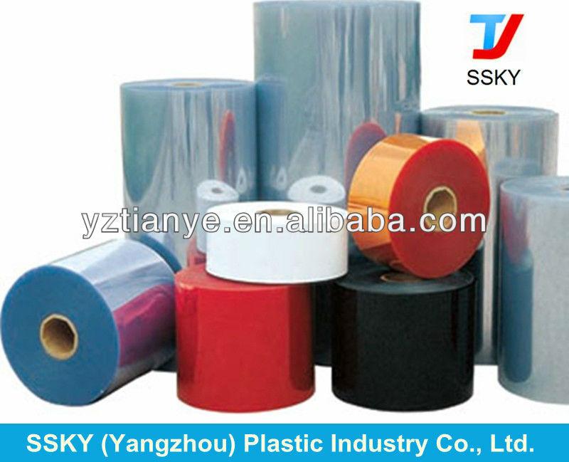 Médecine Transparent en plastique PVC Film rouleau