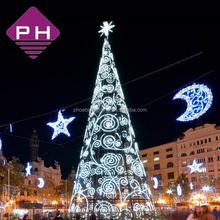 outdoor festival decoration holiday led christmas tree light