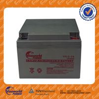 wholesale cheap price vrla sealed lead acid rechargeable storage gel solar deep cycle 12v 24ah battery for ups