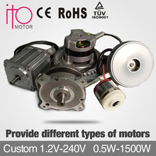 36V 48V 100mm 1000w CE/ROHS Brushless Dc Motor