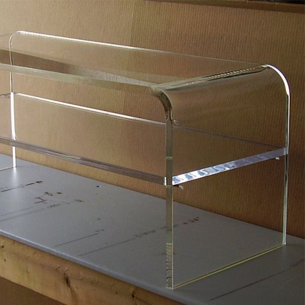 Table Basse Acrylique Bureau Caf Plexiglas Ensemble De Meubles De Luxe Transparent Table