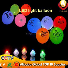 2015 newest design party decoration alibaba express top ten supplier luminous neon flashing led balloon light/led light balloon