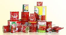 Health food normal open /easy open lid price canned tomato paste for 2015 new products in 850g can
