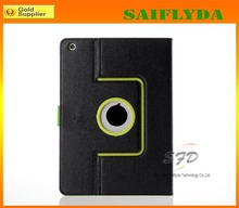 HOT 360 rotating smart leather filp case for ipad air 2