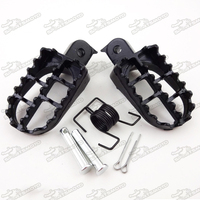 Dirt Pit Bike CRF50 XR50 125CC Foot Pegs For PW PY 50 PW80
