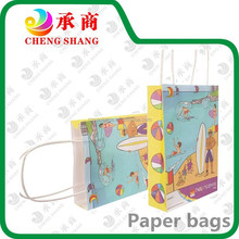 CHINA custom printing luxury foldable paper shopping bag with logo