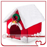 New Christmas Top Quality Best Sale Luxury Christmas Pet Dog House, Pet Dog Bed