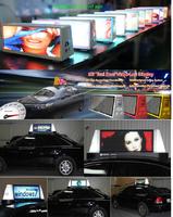 3G/GPRS/WIFI SMD PH5 Car Roof LED Digital Billboards for sale