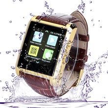 Vensmile 1.3MP HD Camera wrist watch phone dual sim android wifi watch phone waterproof watch mobile phone