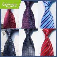 Various Popular Patterns, Good Quality 100% Silk/Polyester Necktie, Professional Necktie Factory in Shengzhou