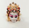2015 new design Beijing opera facial makeup pearl ring, engagement ring for girlfriend