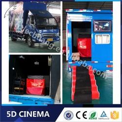5D Cinema Game Machine 3D Glasses Truck Mobile Kino 12D Cinema
