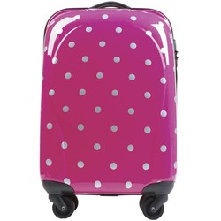 Top quality abs pc trolley luggage four case