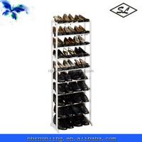 30-pair white plastic ikea shoe rack